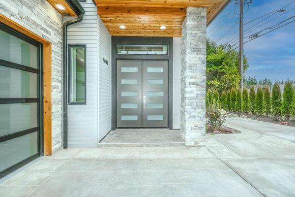 Portes extérieures en aluminium