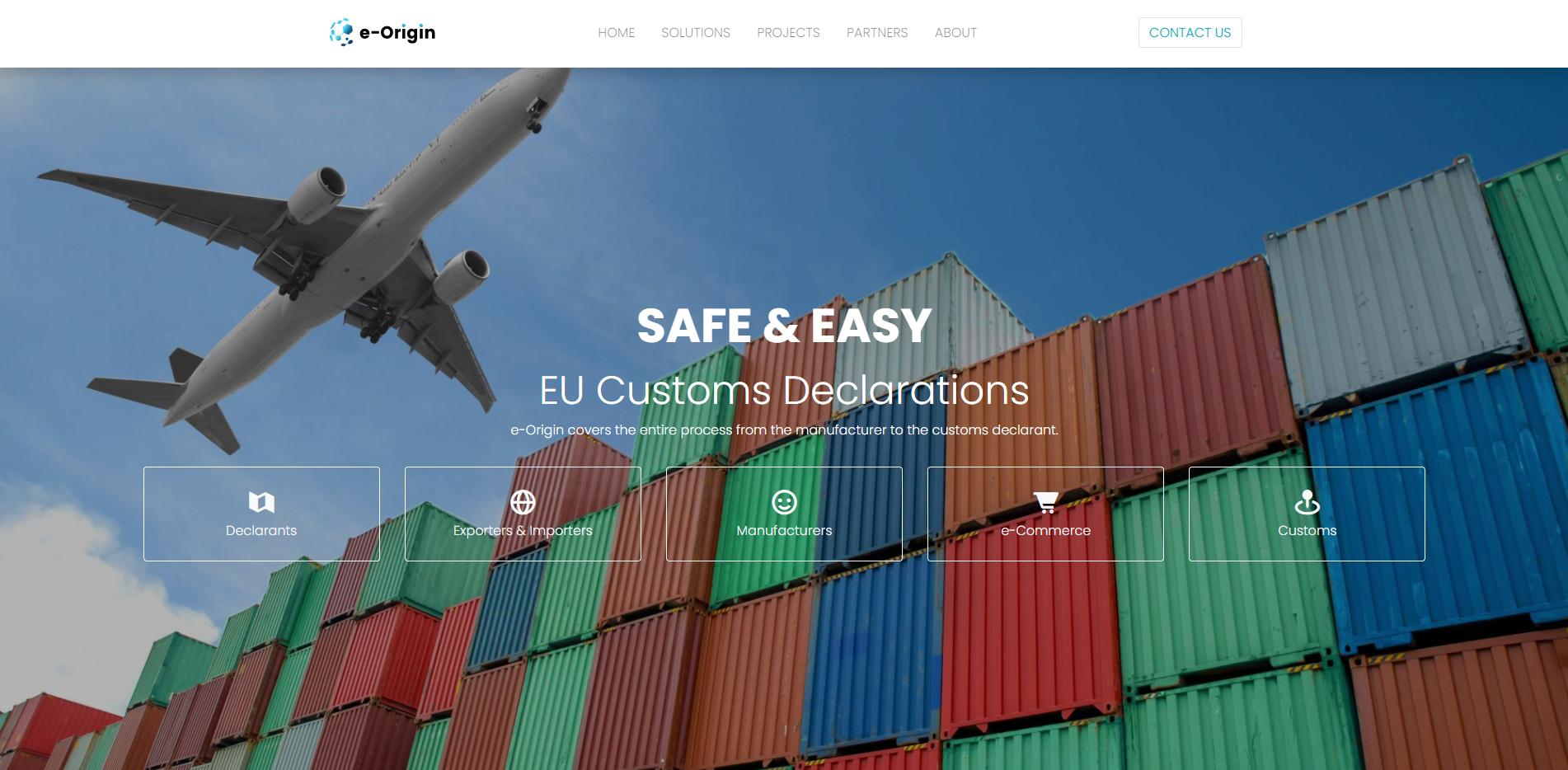 e-Origin Easy EU Customs Declarations