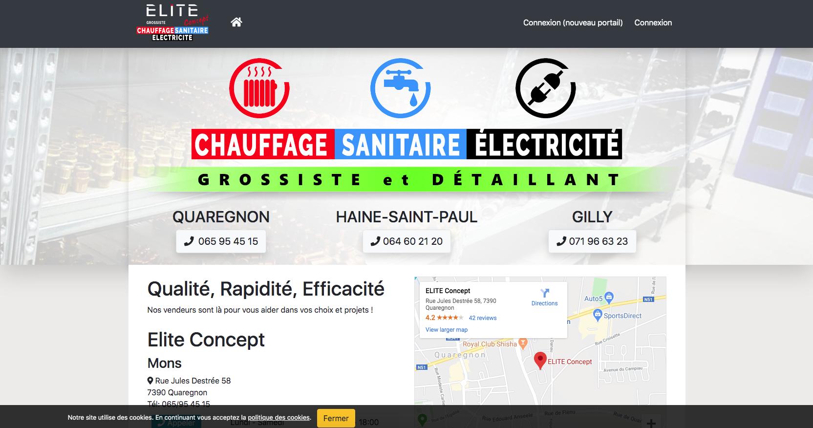Elite Concept EU - Grossiste Chauffage - Sanitaire - Électricité
