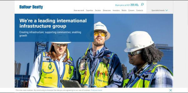 Balfour Beatty - Infrastructure group
