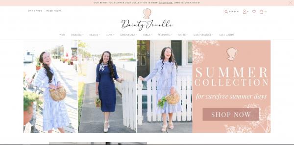 Dainty Jewells - E-Commerce