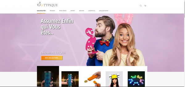 Atypique - E-Commerce