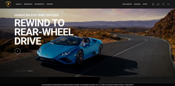 Lamborghini - Rewind to Read-Wheel drive