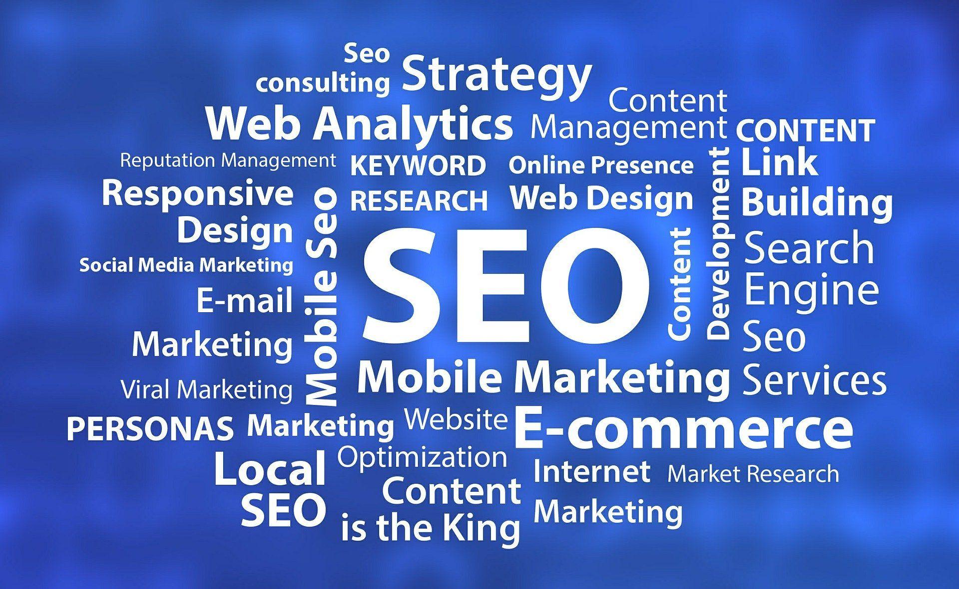 Moteurs de recherche - Google, Yandex, Bing, Yahoo
