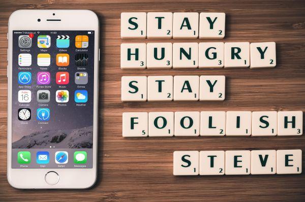 Restez affamés, restez fous